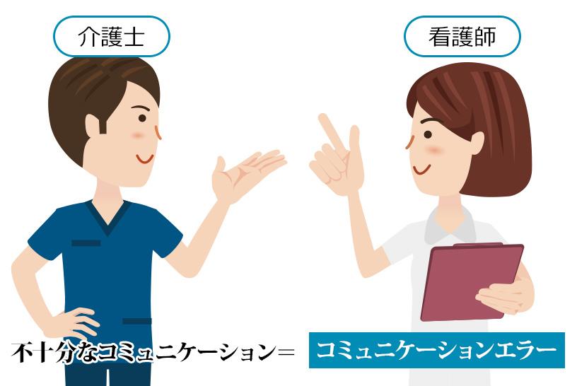 看護職と気軽に話せない?コミュニケーションエラー防止に、介護職は3つのツールを使って対応してみましょう
