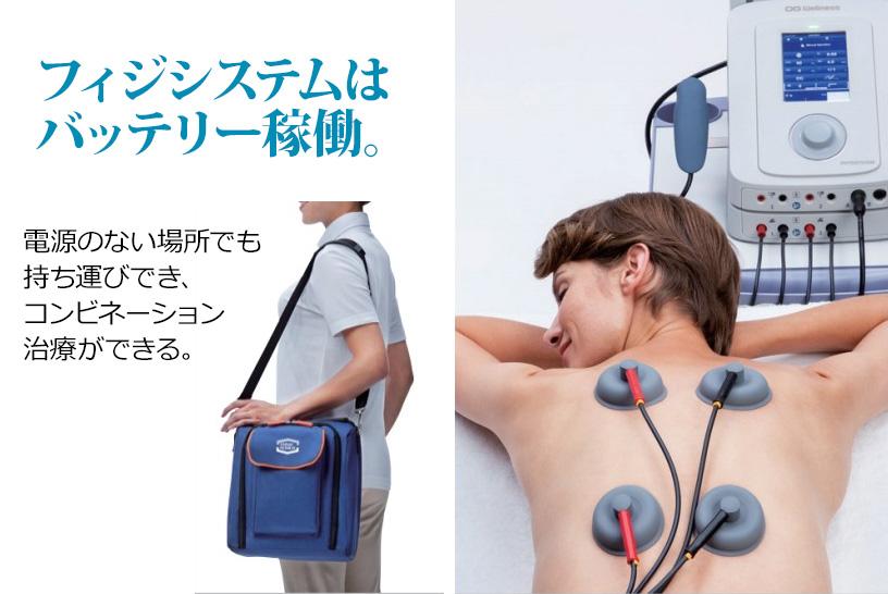疼痛緩和には超音波と電気刺激療法の複合治療機器がおすすめ