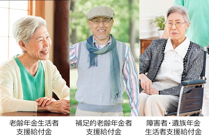 年金生活者支援給付金を受給できる要件や対象者