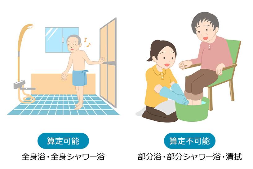 新たな入浴介助加算は2パターンある!それぞれの算定要件を解説