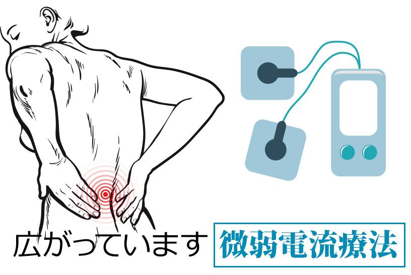 スポーツ現場で効果が認められている微弱電流を急性期病院でも取り入れよう!