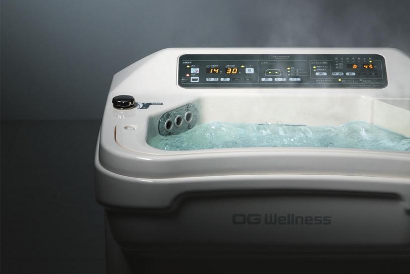 渦流浴だけでなく気泡浴も同時に可能