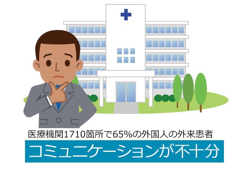 現在の日本における外国人の外来患者への対応は?