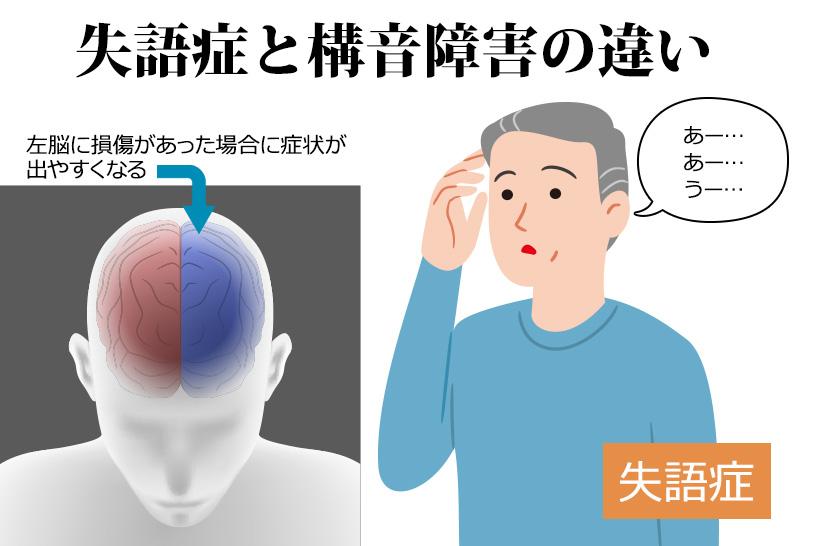 失語症と構音障害の違い