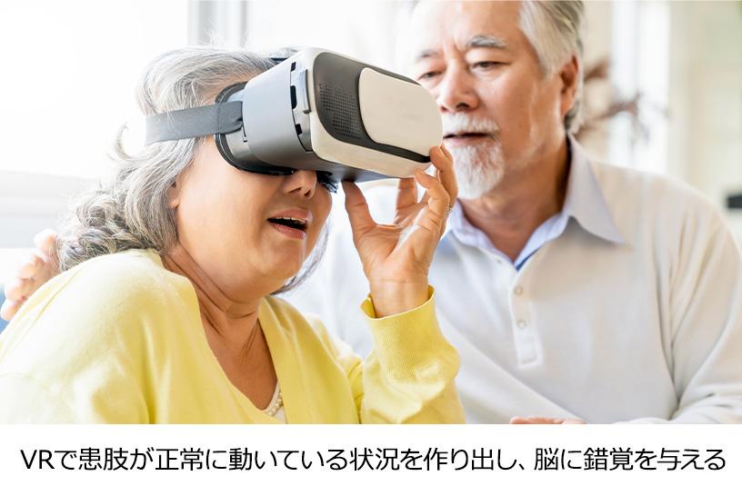 VRを用いた幻肢痛治療の方法