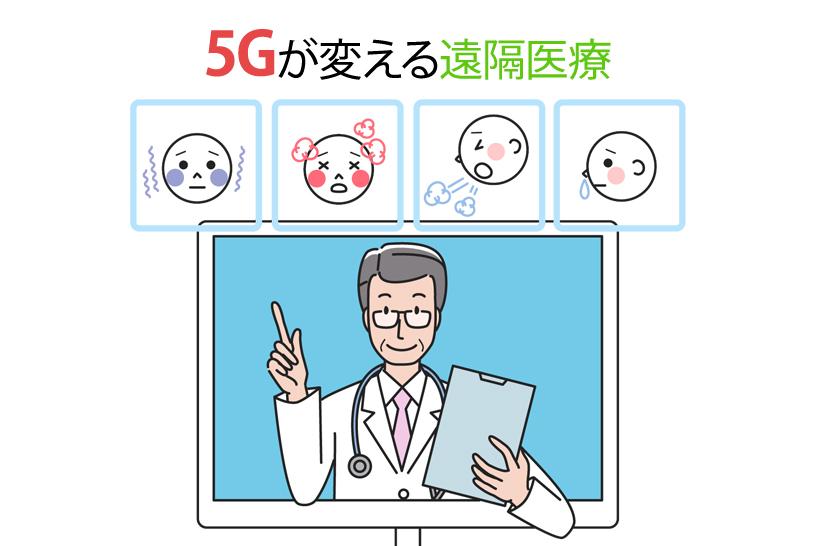 5Gが変える遠隔医療