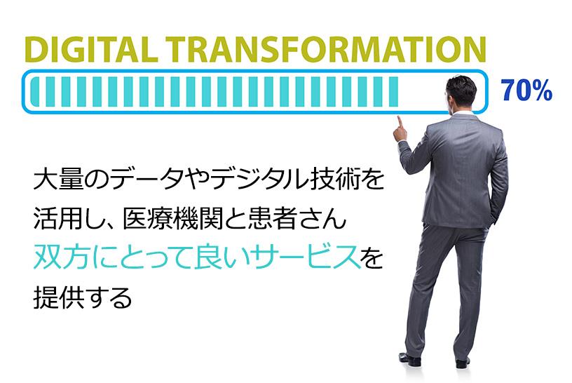いま話題の「デジタルトランスフォーメーション」(DX)とは?