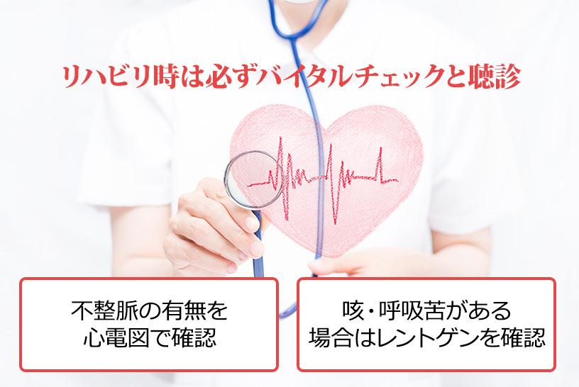 急性心筋梗塞患者さんのリハビリで押さえておくべき評価項目