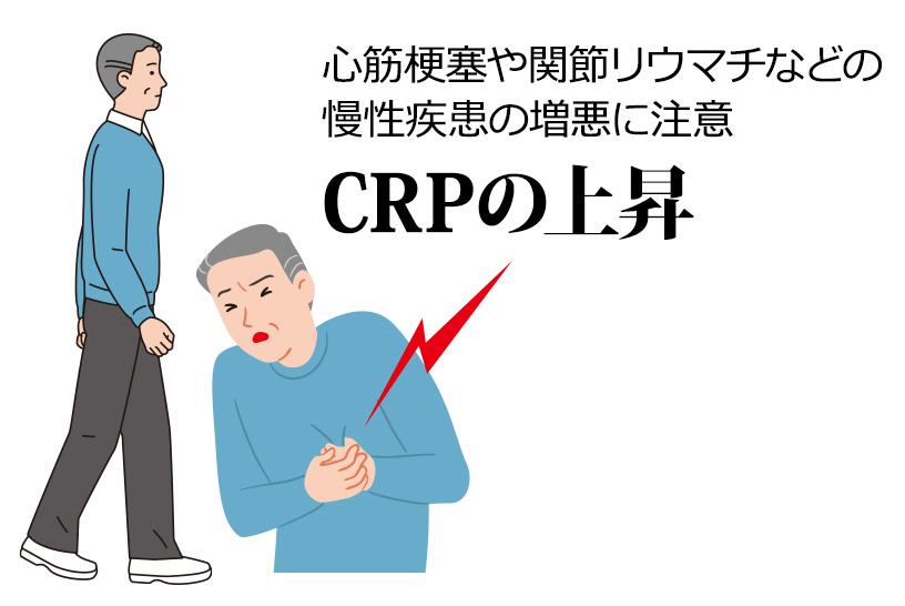 心筋梗塞や関節リウマチなどの慢性疾患の増悪に注意 CRPの上昇