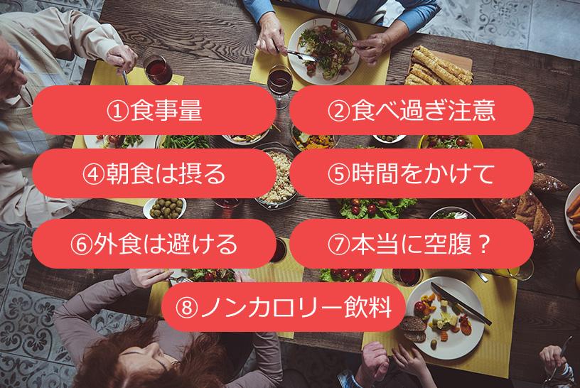 ハーバード大学が提唱する食事指導法!食事に対する考え方は日米同じ
