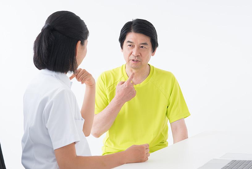 模擬患者は、コミュニケーションを取ることが役割