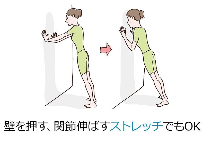 座って過ごすときはときどき体を動かす