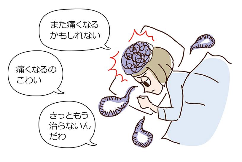 脳の機能が障害されて腰痛を引き起こす