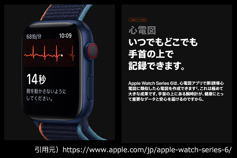 Apple Watchで心電図を確認する方法は?