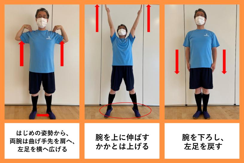 8番目:腕を上下に伸ばす運動